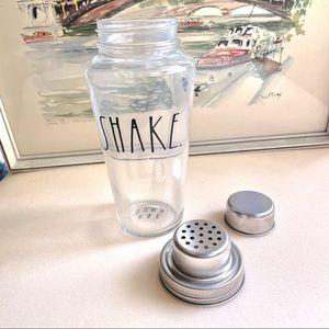 Rae Dunn SHAKE Glass Cocktail Shaker